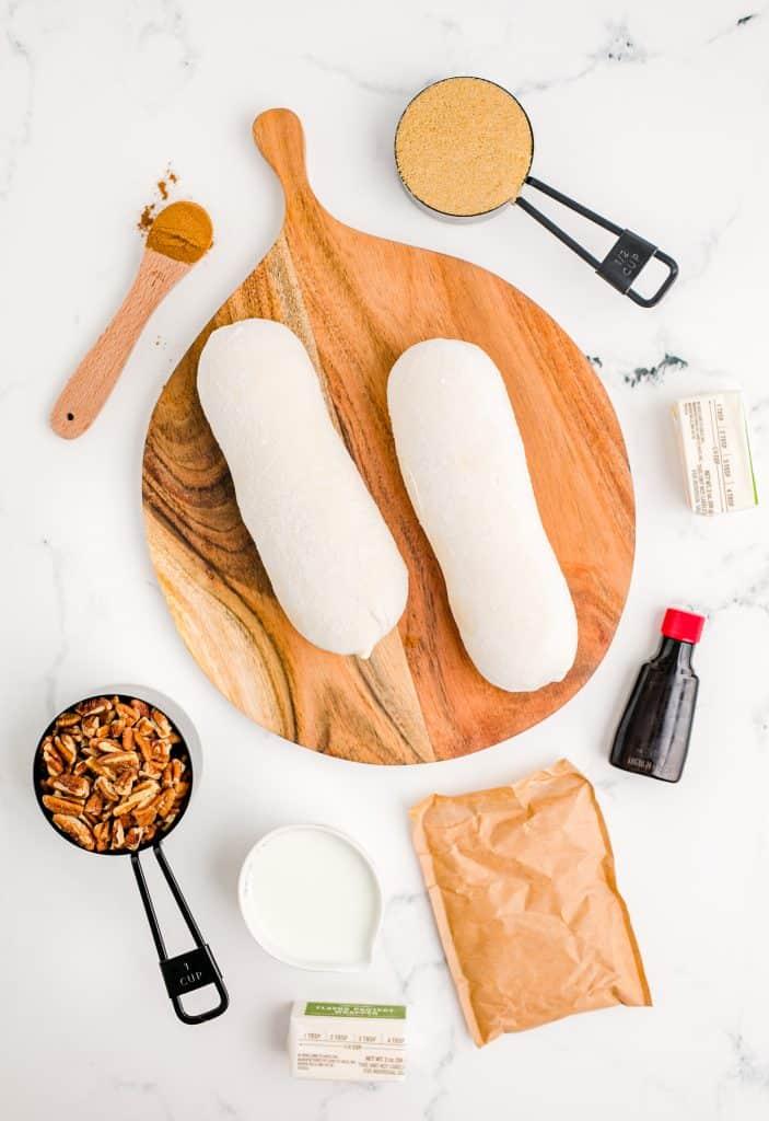 ingredients to make monkey bread