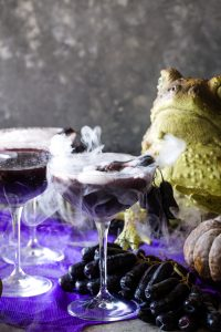 dry ice halloween cocktails